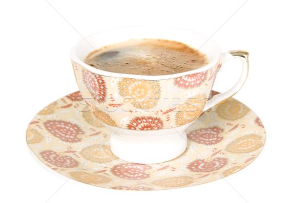 горячей черный кофе Nice Кубок темно белый Сток-фото © carenas1