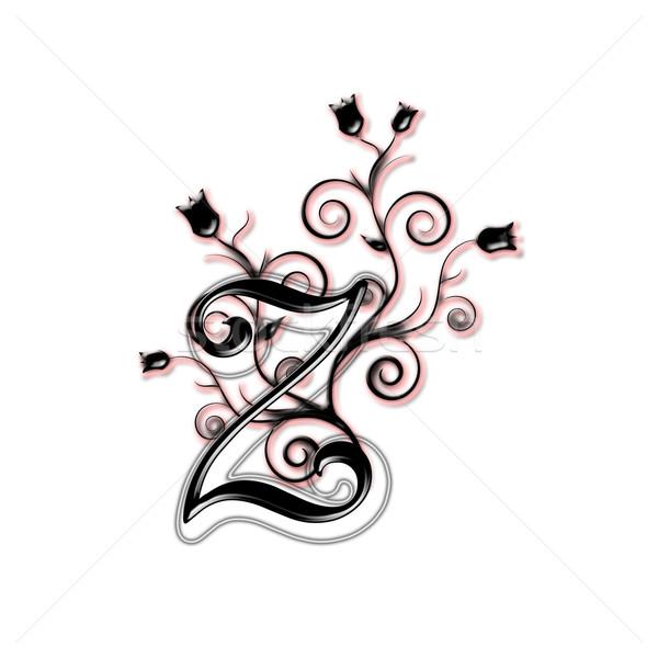 Capital letter Z Stock photo © carenas1