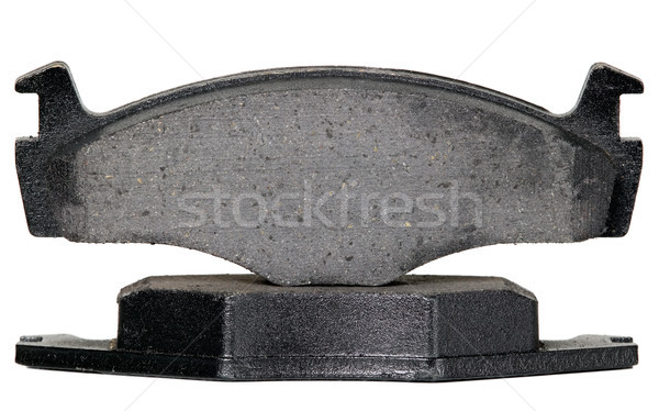 Stock photo: Brake pads for automobile wheels
