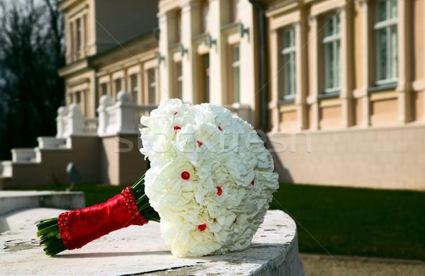 Wedding flower bouquet Stock photo © carenas1