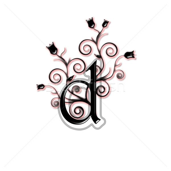 Lower case letter Stock photo © carenas1