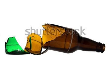 Broken bottle Stock photo © carenas1