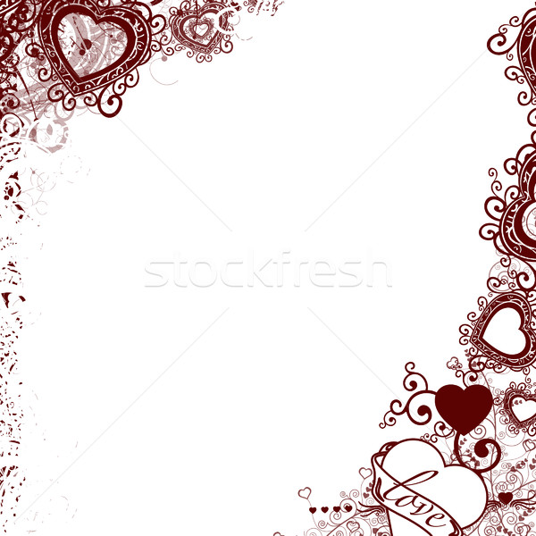 Art image - Heart Stock photo © carenas1