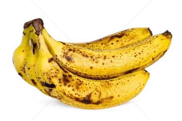 Yellow over ripe bananas Stock photo © carenas1
