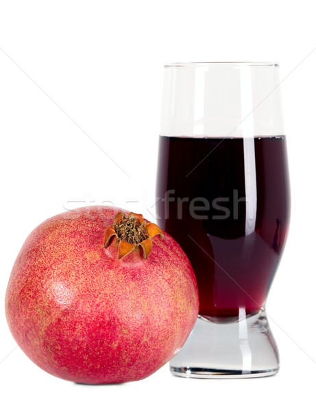 Tasteful fruit garnet Stock photo © carenas1