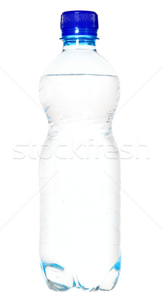 White mineral water bottle with blue cork Stock photo © carenas1
