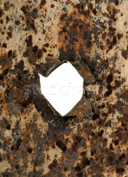 Metal with hole Stock photo © carenas1