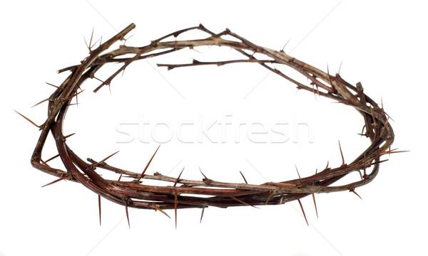クラウン 木材 神 痛み 宗教 キリスト ストックフォト © carenas1