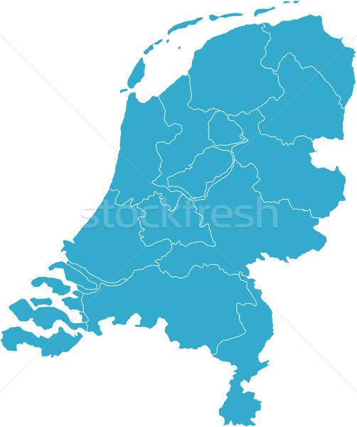 Zdjęcia stock: Niderlandy · kraju · Pokaż · biały · Europie