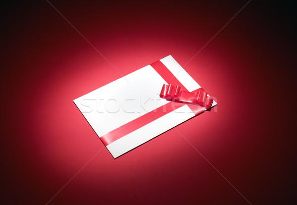 White envelope for christmas Stock photo © carenas1