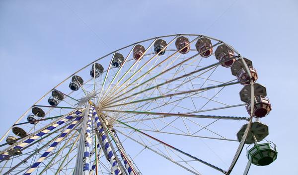 Grande atração parque céu roda Foto stock © carenas1