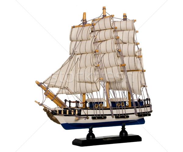 Vecchio nave piccolo modello barca Foto d'archivio © carenas1
