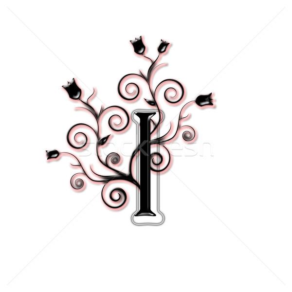 Capital letter I Stock photo © carenas1