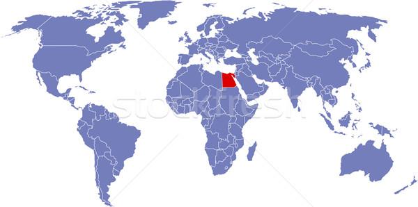 グローバル 地図 世界 抽象的な 背景 地球 ストックフォト © carenas1