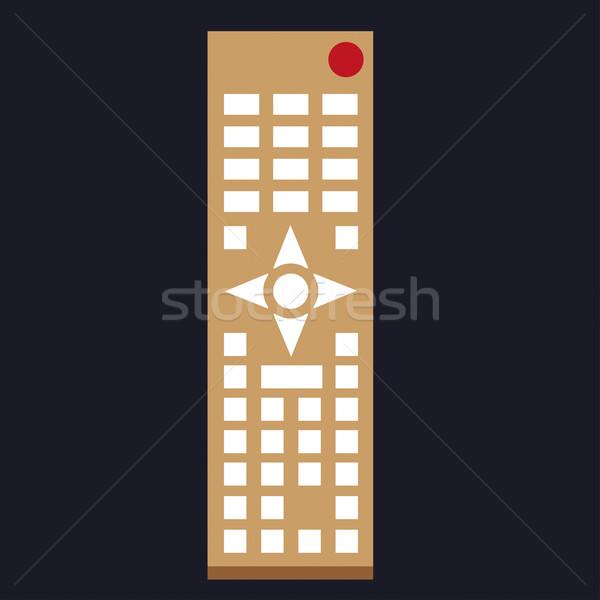 Clipart of remote tv controller Stock photo © carenas1