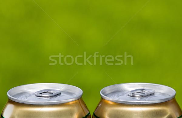 Metal beer can, unopened Stock photo © carenas1