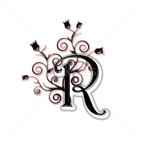 Capital letter R Stock photo © carenas1
