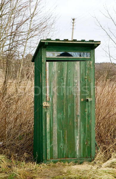 Outdoor toilet Stock photo © carenas1