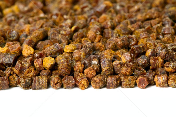 Propóleos abeja producto marco blanco medicina Foto stock © carenas1
