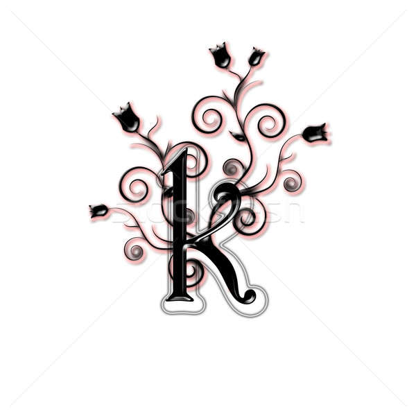 Lower case black letter Stock photo © carenas1
