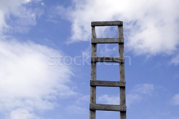 Ladder to beautiful heaven Stock photo © carenas1