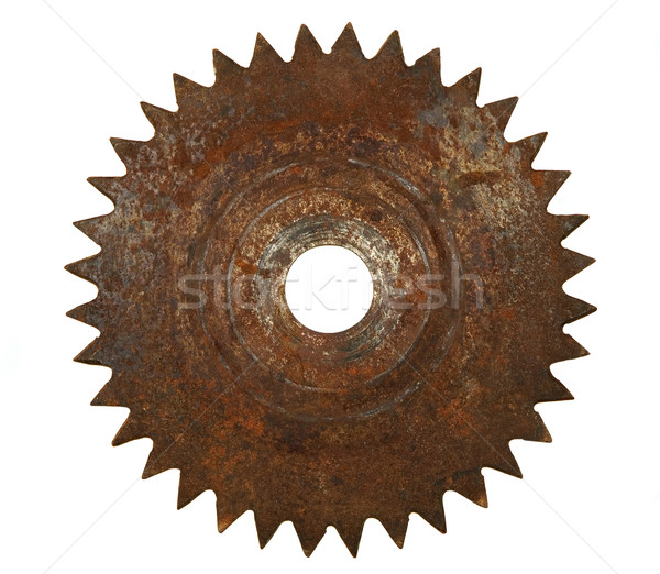 Old rusted metal blade Stock photo © carenas1