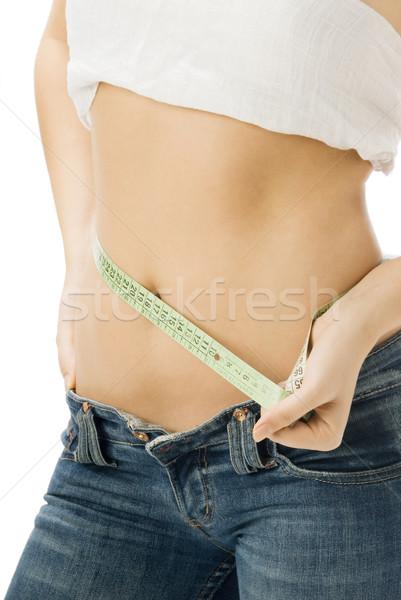Stock photo: waist