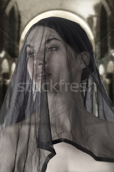 sicily widow Stock photo © carlodapino
