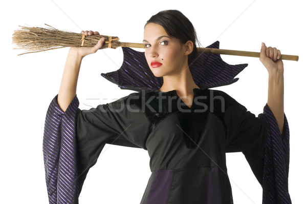 Stock photo: the witch