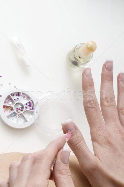 nail art Stock photo © carlodapino