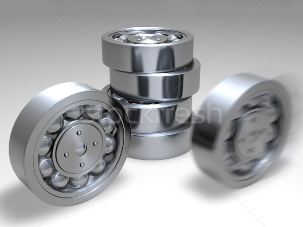 isolated bearing  Stock photo © carloscastilla