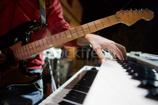 Musician in concert  Stock photo © carloscastilla