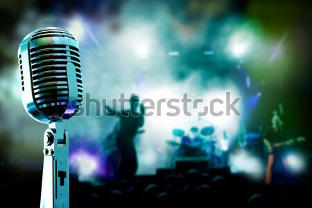 live music background  Stock photo © carloscastilla
