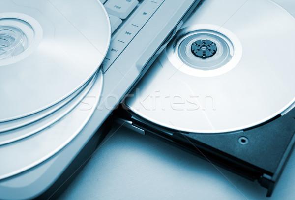 Computer data concept Stock photo © carloscastilla