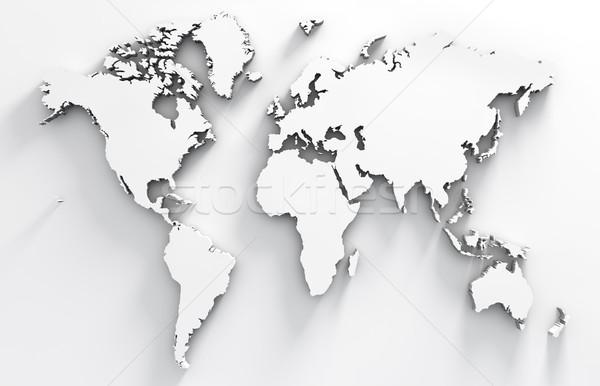 World map Stock photo © carloscastilla