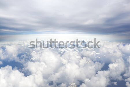 Heaven concept background.Sky background Stock photo © carloscastilla