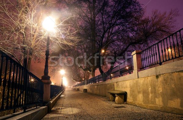 Night cityscpe Stock photo © carloscastilla