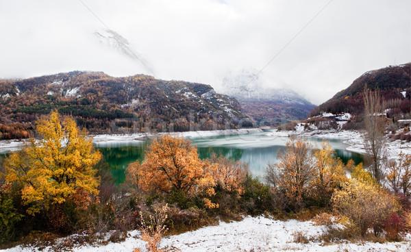winter mountain landscape Stock photo © carloscastilla