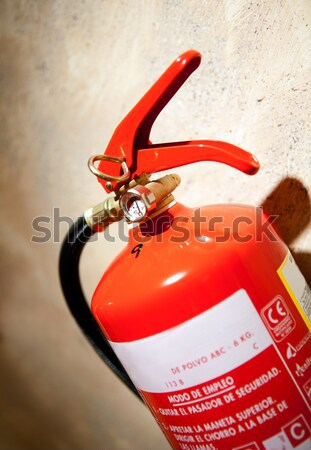 fire extinguisher Stock photo © carloscastilla