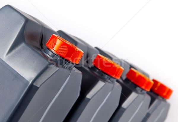 プラスチック ガロン 産業 画像 孤立した 白 ストックフォト © carloscastilla
