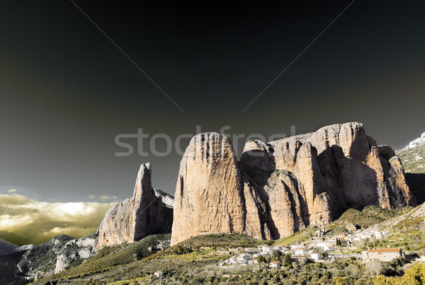 Beautiful mountains landscape Stock photo © carloscastilla