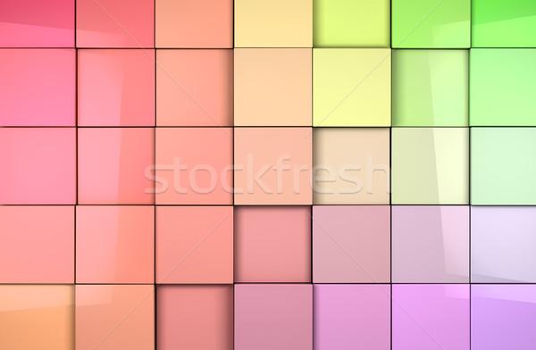 плитки аннотация технологий стекла фон Сток-фото © carloscastilla