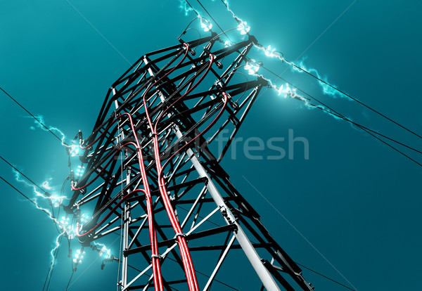 pylon Stock photo © carloscastilla