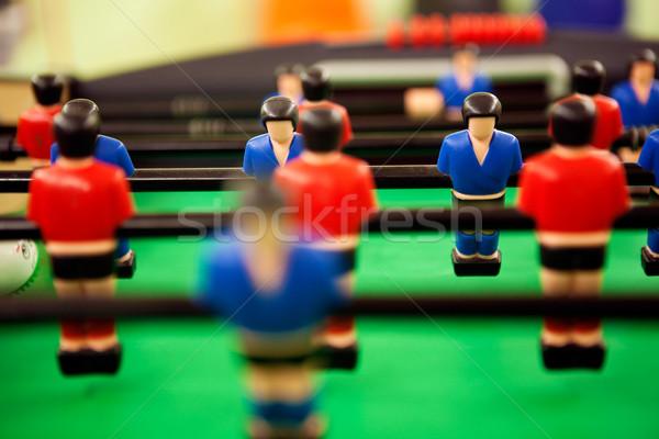 Сток-фото: таблице · футбола · подробность · изображение · лице