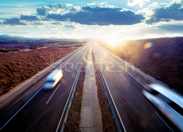 Road transport. Stock photo © carloscastilla