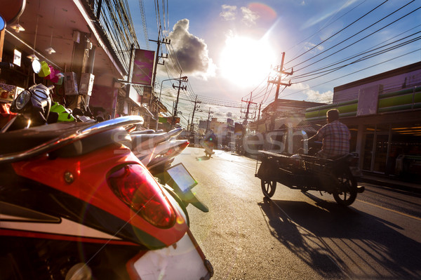 Sunset in thailand.Asian travel and adventures Stock photo © carloscastilla