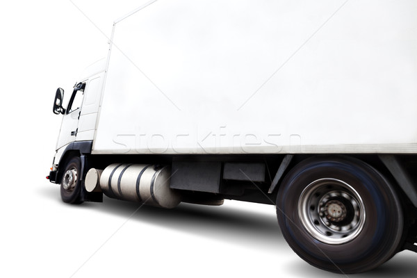 Truck isolated .Close up image of wheels and rim Stock photo © carloscastilla