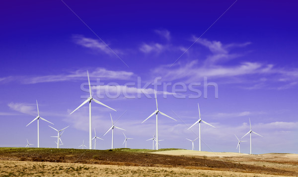 Windfarm. Stock photo © carloscastilla