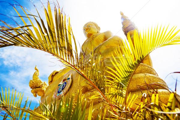 экзотический Таиланд большой Будду Пхукет монастырь Сток-фото © carloscastilla