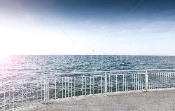 морем пейзаж природы фон лет Сток-фото © carloscastilla